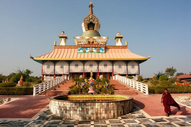 Лумбини храм